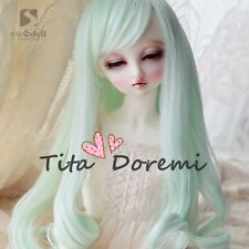Bjd Doll Wig 1/3 8-9 Dal Pullip AOD AE SD DOD LUTS Dollfie Doll green Toy Hair