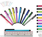 10 x Metal Universal Stylus Touch Pens For Apple iPad Samsung Tablet iPhone