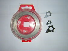 Safety Lock Wire In Cassette. 30M. With 6/8/10mm Lockwire Washers. New