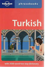 Lonely Planet Turkish Phrasebook by Arzu Kurklu, Lonely Planet (Paperback, 2008)