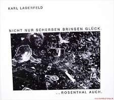 Fachbuch Fotoband Karl Lagerfeld und Porzellan von Rosenthal - sehr seltens Buch