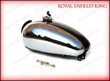 Brand New Royal Enfield Bullet Custom Deluxe Petrol Tank Chromed Black