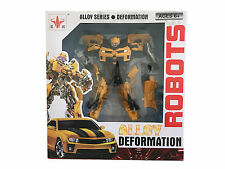 NEW Deformation Bumblebee Alloy Series Toy Robot Action Figure Great Xmas Gift