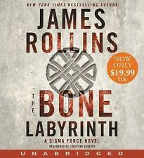 The Bone Labyrinth Low Price CD : A Sigma Force Novel by James Rollins (2016,...