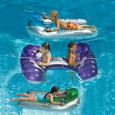 Inflatable Pool Water Battle Set of Three with Squirt Guns, Fun Kids Kickboards