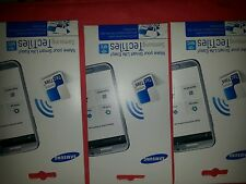 Samsung Tectile Tags/Stickers Note 2&3, Galaxy S3, S4, S5