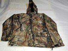 Vintage Scent Shield Youth Camouflage Hooded Jacket Size Medium