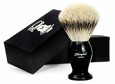 SILVER TIP BADGER HAIR SHAVING BRUSH WITH DESIGNER BOX FOR MEN'S