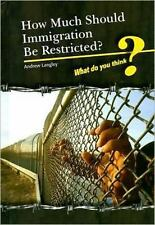 How Much Should Immigration Be Restricted? (What Do You Think?)