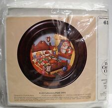 Vintage UNOPENED 1985 Creative Circle #6142 Collectors Plate Embroidery Kit