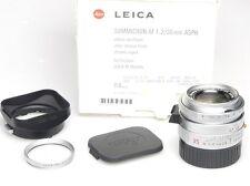 Leica Summicron-M 1:2 / 35mm ASPH. Silver 11882