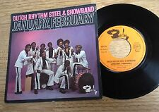 45 tours Dutch Rhythm Steel & Showband January, february 1976 VG+/EXC