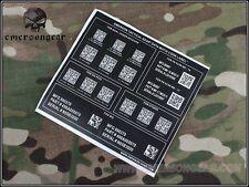 Emerson Devgru NSW Airsoft Matrix Code Sticker G1 EM7905