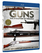 "Blu-Ray, ""GUNS: Evolution of Firearms"" NEW 6-part military series! sealed"