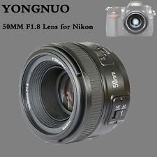 Yongnuo YN 50mm F/1.8 AF MF Auto Focus Lens for Nikon D810 D800 D750 D700 D610