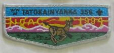 Lodge 356  Tatokainyanka  S10  NOAC 1994  Pocket Flap  OA  BSA