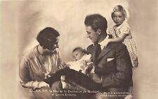 POSTCARD    ROYALTY    BRABANT  Duke and Duchess  with their  Children
