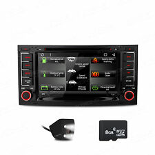 "7"" In Dash Car DVD GPS Navigation Radio Stereo +Camera For VW Touareg 2004-2011"