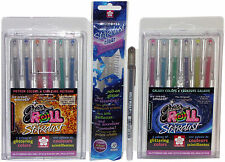 Sakura Gelly Roll Stardust Pens Galaxy & Meteor + Clear & Bonus Black Sparkle