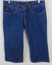 Frankie B Cropped Capri Button Pocket Jeans Women's Size 2 Made in USA