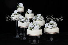 7 TIER CASCADE WEDDING CAKE STAND CUPCAKE STAND (STYLE R700)