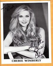 Cherie Wimberly-signed photo-22