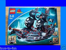 LEGO DUPLO~GROSSES~PIRATENSCHIFF~PIRATEN~PIRATENWELT~HERRSCHER DER MEERE~7880