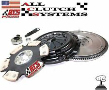 ACS STAGE 4 CLUTCH KIT+HD FLYWHEEL 1992-2000 HONDA CIVIC 1.5L 1.6L SOHC D15 D16