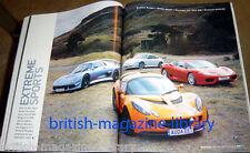 Evo Magazine 68 Porsche 911 996 GT3 v Lotus Exige v Noble M400 v Ferrari 360 CS