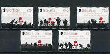 Gibraltar 2016 MNH Battle of Somme 100th Anniv 5v Set WWI World War I Stamps