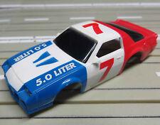 Für Slotcar Racing Modellbahn ---  Camaro 5.0 Liter Karosserie für Tyco Motor