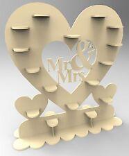 Y65 corazón Sr. & sra. 44x Ferrero Rocher Dulce Eje Principal Soporte Árbol De Regalo