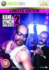 Kane and Lynch 2: Dog Days - Limited Edition Microsoft Xbox 360 PAL As New