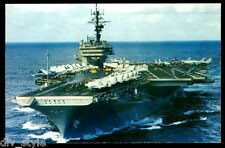 USS Kitty Hawk  CV-63 Postcard US Navy Ship Aircraft Carrier