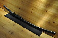 """1.5"""" Sori Shinogi Zukuri Nami Koshirae Hishi-Gami Leather ito Japanese Sword"""