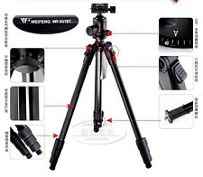 New FANCIER weifeng WF-531BT Ball head camera DV tripod for Canon Nikon Sony