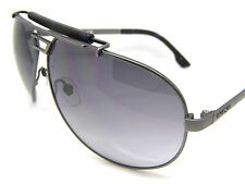 Stunning Diesel Sunglasses DL0027/S 91W Grey Metal Aviator Accessory New