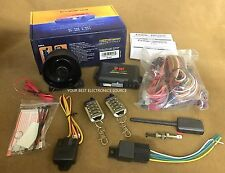 NEW Crimestopper SP-402 Car Alarm with Remote Start, Keyless Entry System SP402