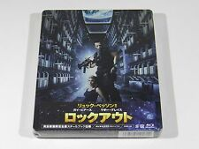 Lock Out Blu-ray Steelbook [Japan] Brand New Sealed OOS/OOP RARE ENGLISH AUDIO