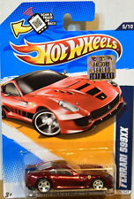 HOT WHEELS 2012 SUPER TREASURE HUNT FERRARI 599XX #5/10 RED FACTORY SEALED