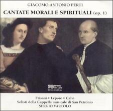 Giacomo Antonio Perti - Cantate Morali E Spirituali [CD New]