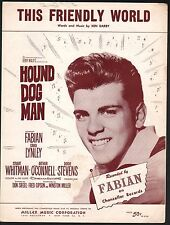 This Friendly World 1959 Hound Dog Man Fabian