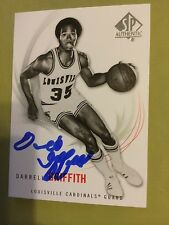 Darrell Griffith Signed Basketball Card Louisville Cardinals Upper Deck Sp Auto