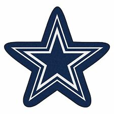 Dallas Cowboys Mascot Decorative Logo Cut Area Rug Floor Mat