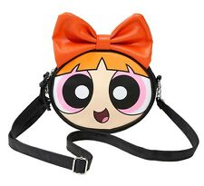 Cartoon Network THE POWERPUFF GIRLS BLOSSOM CROSSBODY BAG Handbag Purse Tote NEW