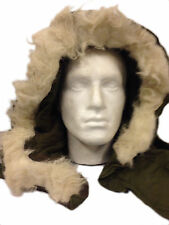 Genuine USA GI Military FISHTAIL M65 PARKA Faux fur Hood Used Grade1 Olive Drab