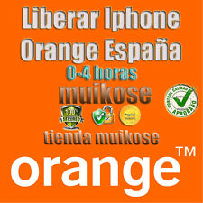 Liberar iPHONE Orange España 3G , 3GS, 4, 4S,5,5S,5C,6,6p,6S por imei UNLOCK