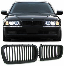BLACK BONNET GRILLS FOR BMW E38 7 SERIES SALOON 1994-2001 MODEL NICE GIFT