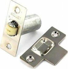 Nickel Adjustable Roller Catch Mortice Door Spring Ball Latch **FREE DELIVERY**