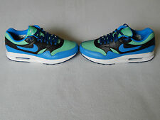 NIKE AIR MAX ONE PREMIUM ID BLUE GREEN BLACK MENS SHOES TRAINERS UK 8.5 ,NEW